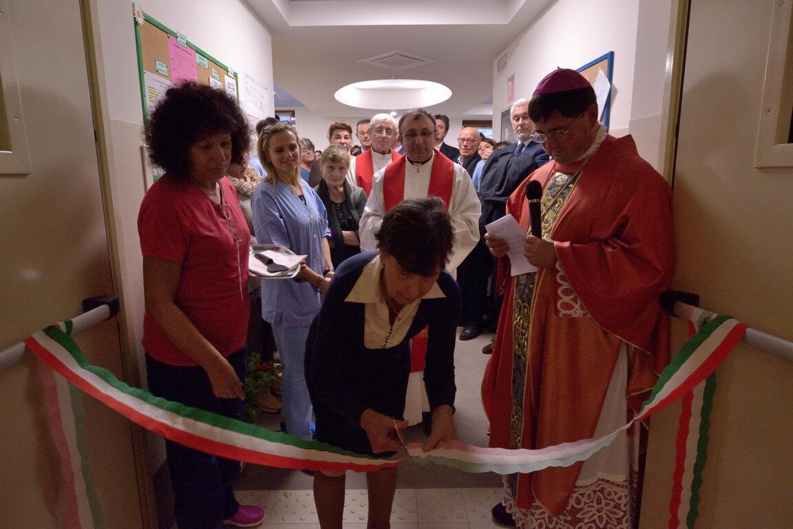 Paverano: inaugurazione del Reparto Don Sterpi – 22/11/2016