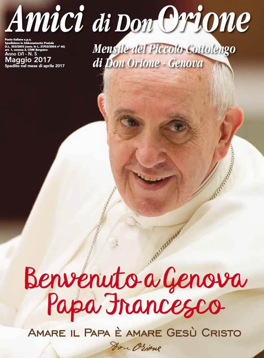Papa Francesco a Genova: il programma della giornata