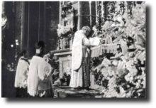Messa altare San Luigi