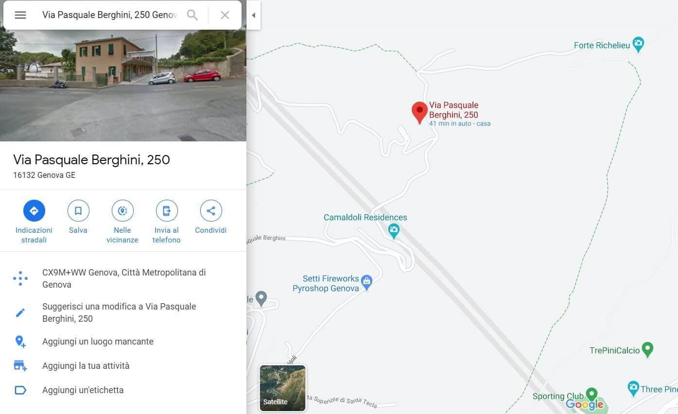 camaldoli map